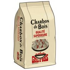 Charbon de bois - 20 litres - GRILL O'BOIS