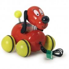Fripouille le chien à traîner VILAC rouge - 15cm