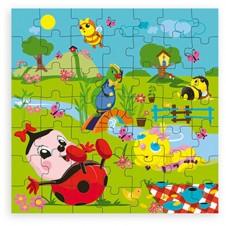 Puzzle Drôles de Petites Bêtes 49 pièces VILAC Bois - 28x17x6cm