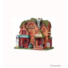 """""""Le chalet de vacance - Aspen inn & Ale house"""" Lemax - 18 cm"""