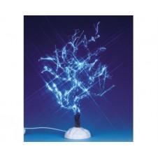 """Arbre Lumineux Lemax """"givré de glace, bleu"""" - 23cm"""