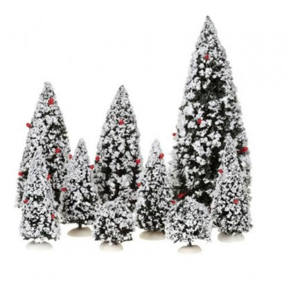"Pack arbres ""Evergreen Trees"" x9 - LUVILLE"