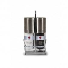 Ensemble de moulins sel et poivre avec présentoir - 136g - COLLITALI