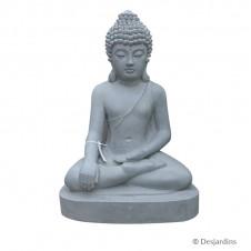 Statue de bouddha assis - 60 cm - DESJARDINS