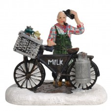 "Figurine ""Ad With Bike"" - LUVILLE"