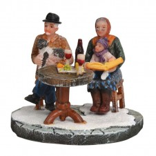 "Figurine ""Grandpa and Grandma"" - LUVILLE"
