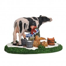 "Figurine ""Henk the Cow Miller"" - LUVILLE"