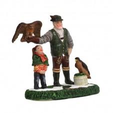 "Figurine ""Jerome The Falconer"" - LUVILLE"