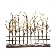 "Arbres ""Lighted Trees with Fence"" droit - LUVILLE"