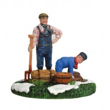 "Figurine ""Marius Helping Gerbert"" - LUVILLE"