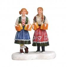 "Figurine ""Wendy and Reina Oktoberfest"" - LUVILLE"