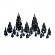 """Boîte """"Assorted Trees"""" x21 - LUVILLE"""