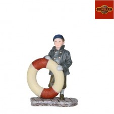 "Figurine ""Jean with bouy"" - LUVILLE"