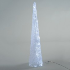 """Sujet acrylique led """"cône"""" - LUMINEO"""