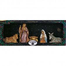 """Assortiment 5 santons """"Nativité"""" Euromarchi - 10cm"""