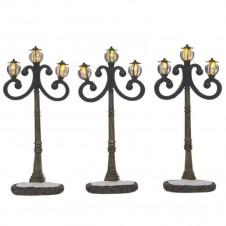 "Réverbères ""Wooden and iron lantern"" - LUVILLE"
