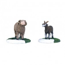 "Figurine ""Sheep and Goat"" - LUVILLE"