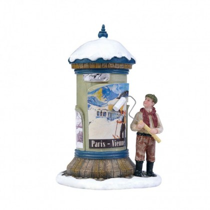 "Figurine ""Advertising Pilar"" - LUVILLE"