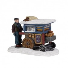"Figurine ""Coffee and Sweets Cart"" - LUVILLE"