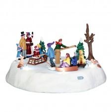 """Scène """"Victorian Ice Merry Go Round"""" - LEMAX"""