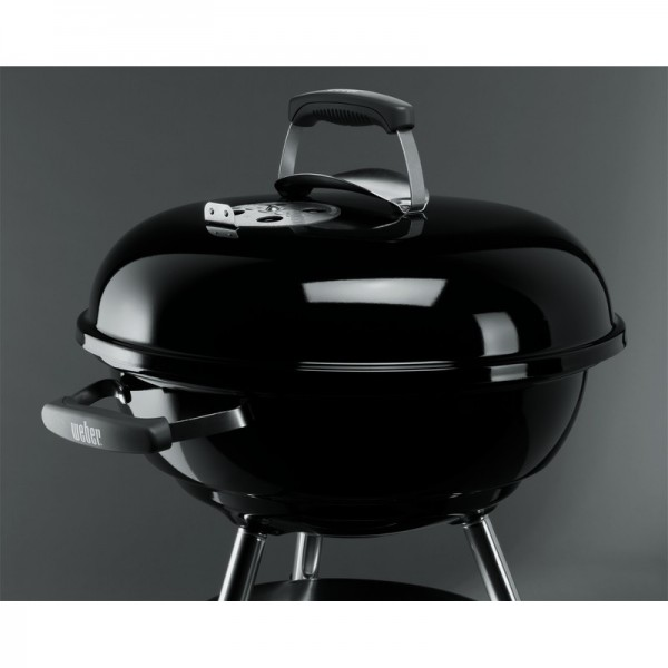 barbecue charbon compact kettle 47 cm noir weber. Black Bedroom Furniture Sets. Home Design Ideas