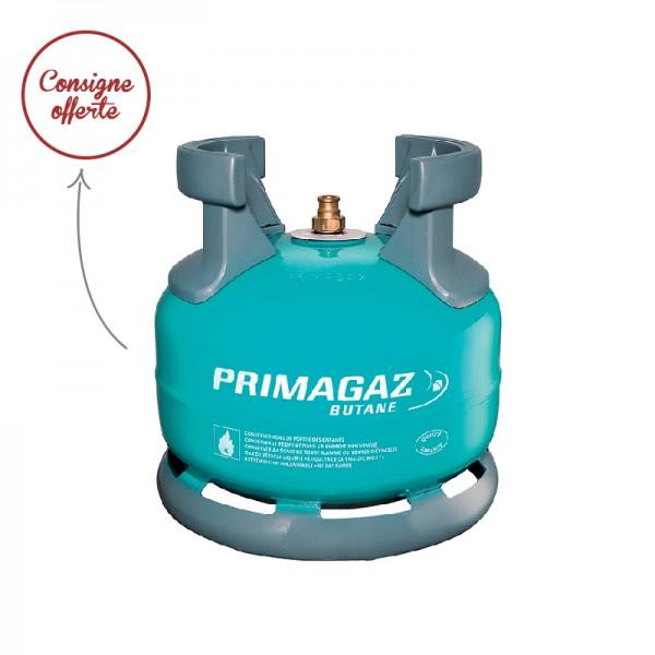 Bouteille de gaz twiny butane 20 consigne inclus for Gaz de ville ou bouteille
