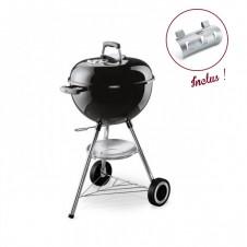 "Pack barbecue charbon "" Original Kettle"" noir + porte ustensile - WEBER"