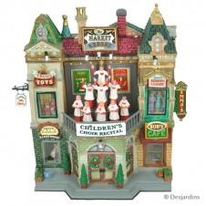 """Façade """"Market Square Christmas celebration"""" - LEMAX"""