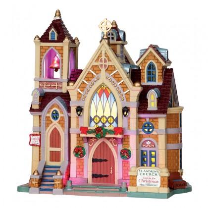 """Eglise """"Carols For Christmas"""" - LEMAX"""