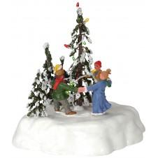 "Scène ""Merry christmas Tree"" - LEMAX"