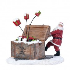 """Figurine """"Santa's Gift Box"""" - LUVILLE"""