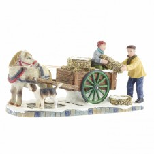 "Figurine ""Hay Cart"" - LUVILLE"