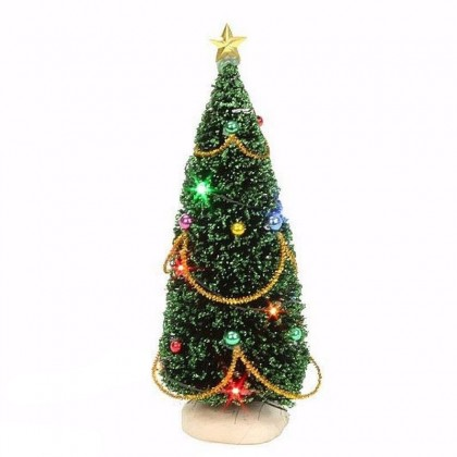"Arbre ""Christmas Tree with Light"" 15 cm - LUVILLE"