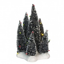 "Arbres ""6 Trees on Base"" multicolore - LUVILLE"