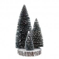 "Arbres ""Base with St Bristle Tree"" 15 cm - LUVILLE"