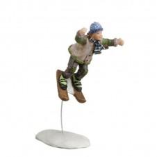 Björn saute à ski
