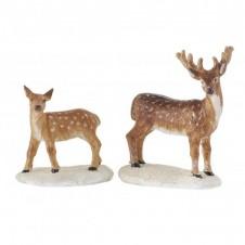 "Figurine ""Deers, set of 2"" - LUVILLE"
