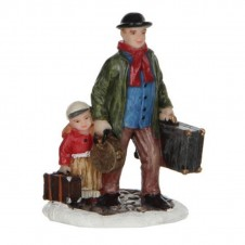 """Figurine """"Travelling With The Kids"""" - LUVILLE"""