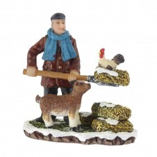 """Figurine """"Cleaning the Farm"""" - LUVILLE"""