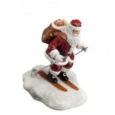 "Figurine ""Santa Skiing"" - LUVILLE"