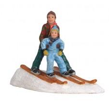 "Figurine ""Sophie on Ski Lesson"" - LUVILLE"