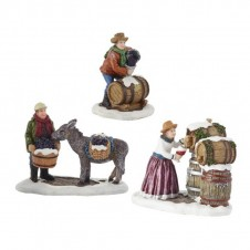"Figurines ""Working on The Winery"" - LUVILLE"