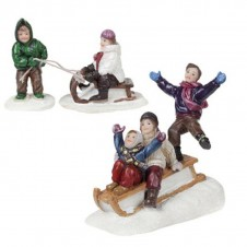 "Figurines ""The Sledge Parade"" - LUVILLE"