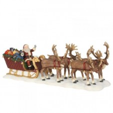 """Figurine """"Santa Reindeer Sledge"""" - LUVILLE"""