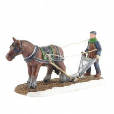 "Figurine ""Evert With The Plough"" -  LUVILLE"