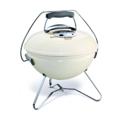 "Barbecue charbon ""Smokey Joe Premium"" 37 cm, blanc crème - WEBER"