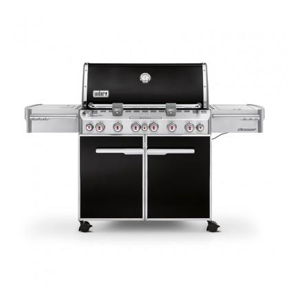 """Barbecue gaz """"Summit E-670 GBS"""" noir intense - WEBER"""