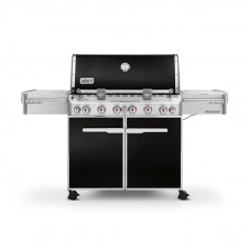 "Barbecue gaz ""Summit E-670 GBS"" noir intense - WEBER"