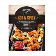 """Livre de recettes """"Hot et spicy"""" - WEBER"""