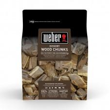 """Gros morceaux de bois de fumage """"Hickory"""" - WEBER"""